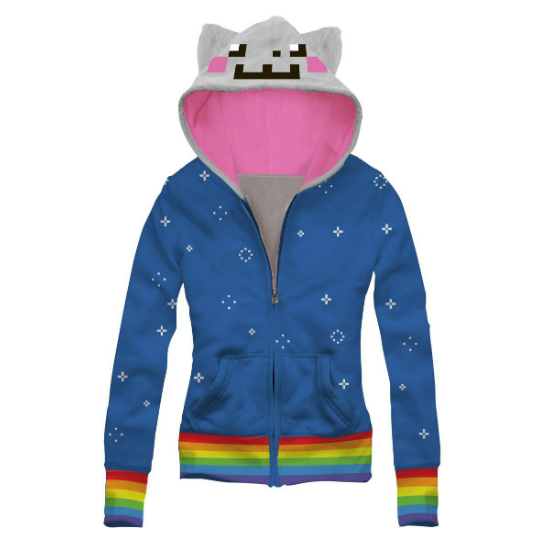 ee4ce26a5ee7 Nyan Cat Hoodie - Shut Up And Take My Money