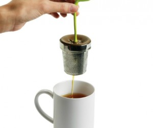 Tea leaf infuser – Wow, your tea is so fresh, it's growing right out of the cup!