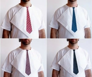 Nobody dresses for dinner anymore, but your guests can at least look like they put some effort into their attire when they use your new tie napkins!