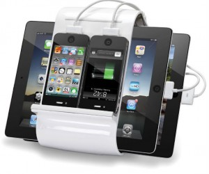 If you've got 2 iPads and 2 iPhone and need them all to be charging at the same time, then this product is for you!