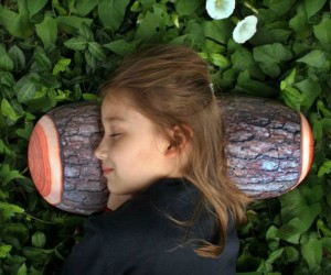Log Pillow – A great way to relax in front of the fire, but don't accidentally throw it in the fire because it will burn.