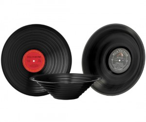 Vinyl Album Bowl – If you are old enough to know what a vinyl album record is, then you will love this bowl.