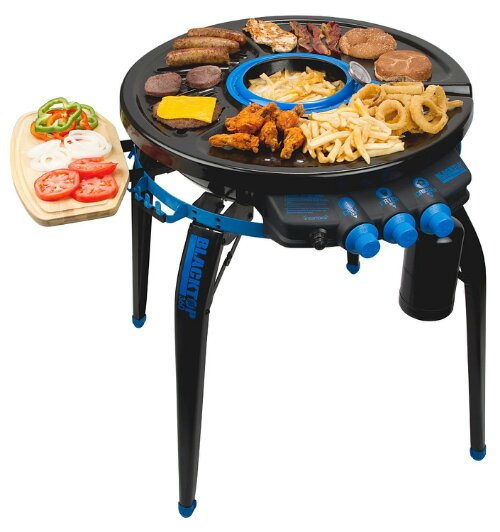 360 degree grill