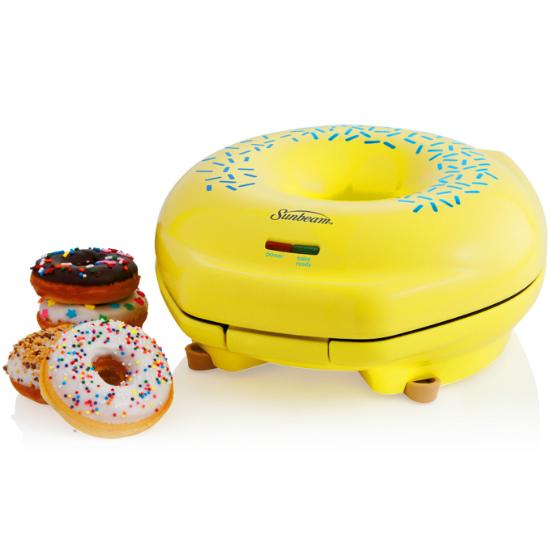Mini Donut Maker Electric 1000 W doghnut Making Machine rose