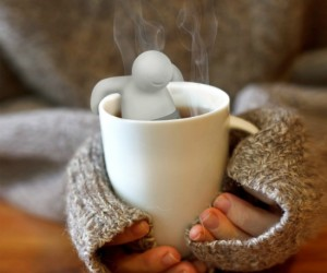 While this little guy is relaxing in your tea cup as if it were a hot tub, he will be strengthening your tea.