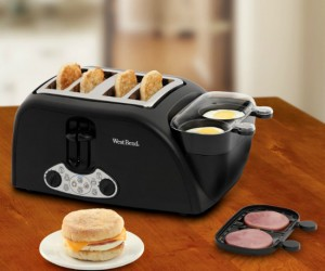 Make your very own egg mcmuffin at home in one device. The perfect breakfast for the busy person on the go.