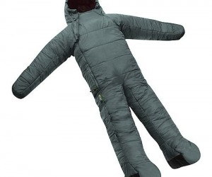 Be cozier than you probably should with the full body sleeping bag.