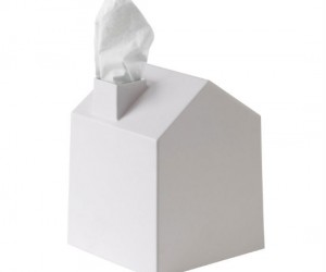 House Tissue Cover – Cover all of those ugly tissue boxes with thisadorablelittle house