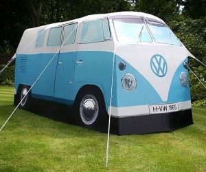 VW Camper Van Tent – What's cooler than camping in a VW Camper van tent? Nothing.