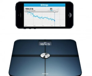 Now your bathroom scale can be smart enough to keep track of your weight and BMI for you, as long as you have WiFi anyways. It can send your information