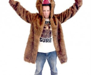 Exercise your secondamendment with the Workaholic's bear coat – fur sure!