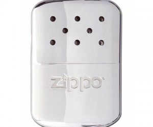 Zippo Hand Warmer – Conveniently warms up those cold hands wherever you are.