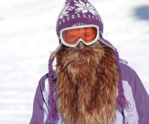 Bearded Ski Mask – You haven't felt warm until you've worn a big fluffy mountain man style beard!