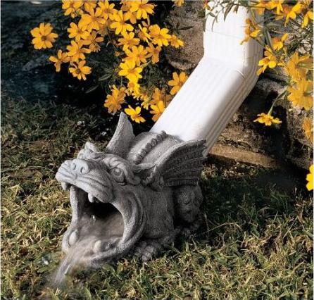 Gargoyle Downspout Statue Shut Up And Take My Money