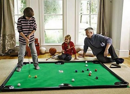 how to set up a pool game