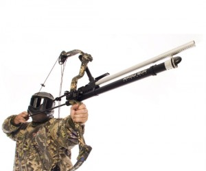 Paintball Bow Gun – Just imagine crouching in the bushes, keeping your breathing shallow, and hunting your enemy the old fashioned way… . Relax, it only shoots paintballs.