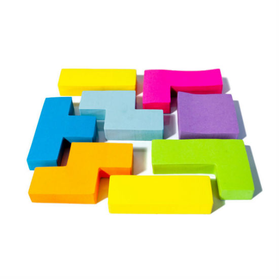 tetris post it notes