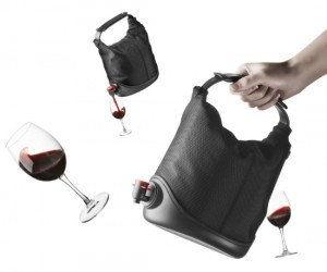 Wine Tote – It may not be able to hold your wallet and keys, but all you really need is the wine right?