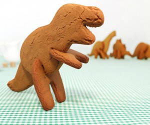 3D Dinosaur Cookie Cutters – Take a bite out of T-Rex before he takes a bite out of you!