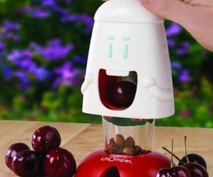 Cherry Chomper – The cutest way to pit your cherries, and it's much quicker and less messy than doing it by hand.