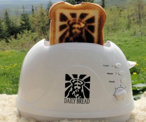 The Jesus Toaster – Start off every day  with a reminder that miracles can and do happen.