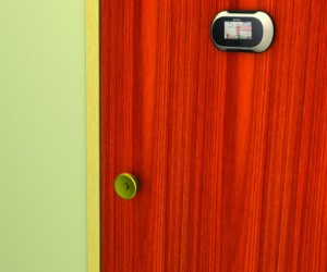 Peephole Screen – You no longer have to stick your eyeball up against the door to see who's on the other side.