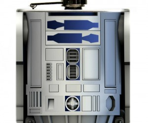 R2-D2 Flask – Help me Jack, Jim, and Johnny… you're my only hope!