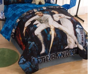Star Wars Comforter – Hopefully this comforter will inspire some awesome dreams!