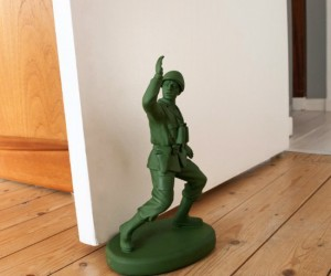 Army Man Door Stop – You can't say that this wasn't inspired by a certain legendary animated film about the secret life of toys…