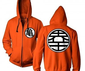 Channel your inner Goku with this stylish Dragon Ball Z hoodie!