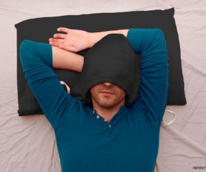 Hoodie Pillow – Get some z's just like you did in your high school chem class.