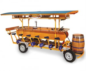 Be the captain of your very own portable pub of awesome!