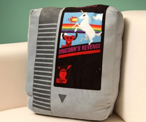 Retro NES Cartridge Pillows – Gaming nostalgia now in pillow form! Comes in sets of 2.