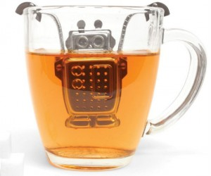 Robot Tea Infuser – Add a little robo goodness to your morning cup.