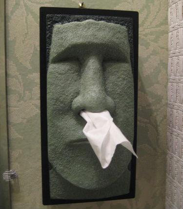 Tiki Tissue Dispenser - Shut Up And Take My Money