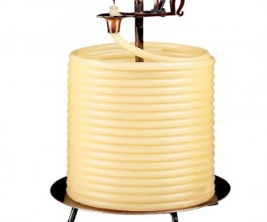 144 Hour Candle – Great for it you're out of power for 6 days.