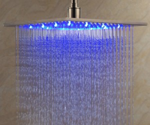LED Shower Head – If you enjoy singing in the rain, then you'll love showering in the rain accompanied by 3 colors of soothing LEDs.