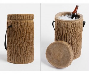 Log Stump Cooler – Your friends will be stumped as to where you hid the cooler when you go camping.