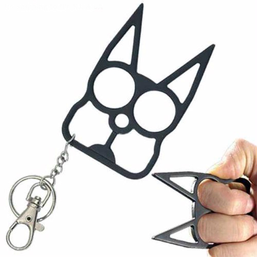 S Cat Keychain Self Defense