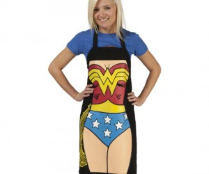 Wonder Woman Apron – Don't you just feel like Wonder Woman when you attempt a really complicated recipe and nail it?