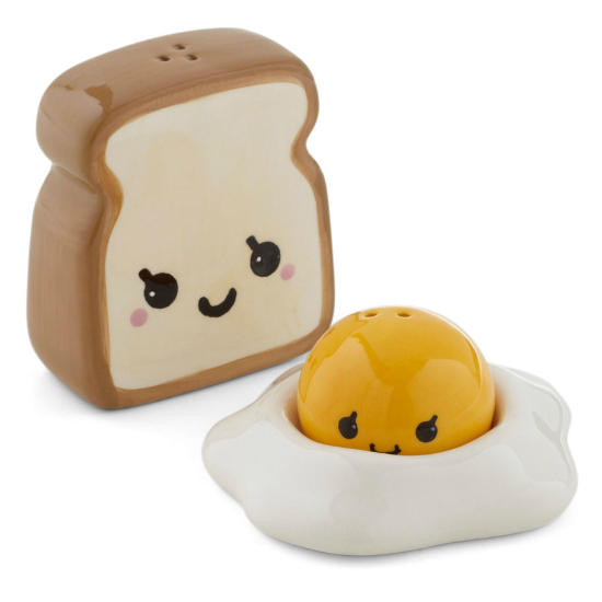 Egg And Toast Salt And Pepper Shakers Shut Up And Take