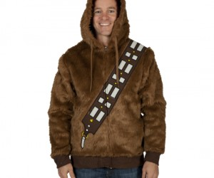 This jacket is so fluffy you'll think it's made out of actual wookie hair.