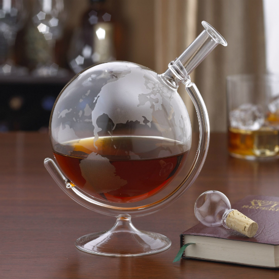 glass globe decanter shut up and take my money. Black Bedroom Furniture Sets. Home Design Ideas