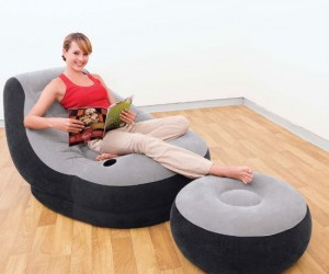 Inflatable Lounge Chair – Perfect for camping or any other time you need instant furniture.