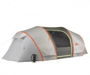 Inflatable Tent – Now you won't have to deal with any more tricky tent rods, this tent practically builds itself.