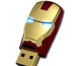 Iron Man Flash Drive – Own your very own piece of Iron Man tech