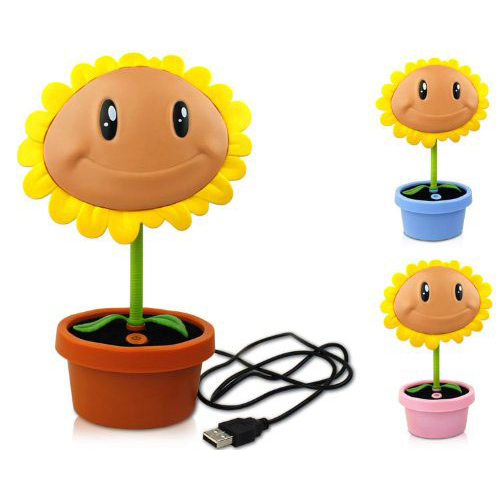 Plants Vs Zombies Led Sunflower Lamp Shut Up And Take My