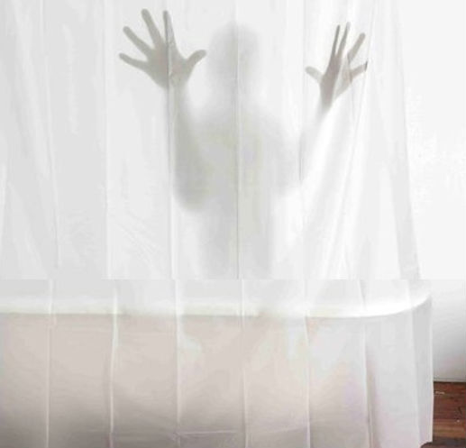 Scary Shadow Shower Curtain Shut Up And Take My Money