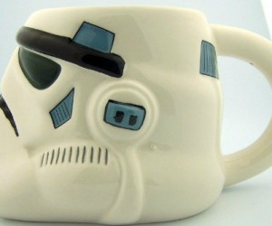 Stormtrooper Mug – It takes a lot of caffeine to be willing to go out there and be a stormtrooper.