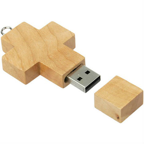 wooden cross usb